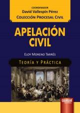 Capa do livro: Apelación Civil, Eloy Moreno Tarrés
