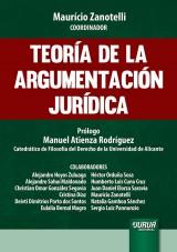 Capa do livro: Teoría de la Argumentación Jurídica - Prólogo: Manuel Atienza Rodríguez, Coordinador: Maurício Zanotelli