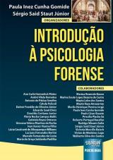 Capa do livro: Introdução à Psicologia Forense, Organizadores: Paula Inez Cunha Gomide e Sérgio Said Staut Júnior
