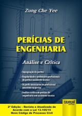 Capa do livro: Perícias de Engenharia - Análise e Crítica, Zung Che Yee