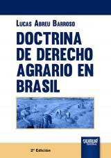 Capa do livro: Doctrina de Derecho Agrario en Brasil, Lucas Abreu Barroso