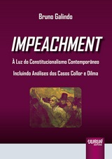Capa do livro: Impeachment, Bruno Galindo