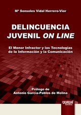 Capa do livro: Delincuencia Juvenil On Line, Mª Sonsoles Vidal Herrero-Vior