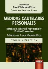 Capa do livro: Medidas Cautelares Personales, María del Pilar Martín Ríos