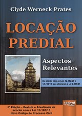 Capa do livro: Locação Predial - Aspectos Relevantes, Clyde Werneck Prates