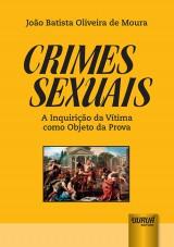Capa do livro: Crimes Sexuais, João Batista Oliveira de Moura