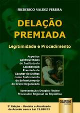 Capa do livro: Delação Premiada, Frederico Valdez Pereira