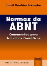 Capa do livro: Normas da ABNT, Jamil Ibrahim Iskandar
