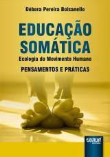 Capa do livro: Educação Somática, Débora Pereira Bolsanello