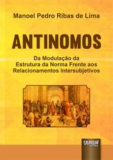 Capa do livro: Antinomos, Manoel Pedro Ribas de Lima