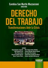 Capa do livro: Derecho del Trabajo - Transformaciones Ante la Crisis, Directora: Carolina San Martín Mazzucconi