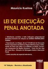 Capa do livro: Lei de Execu��o Penal Anotada, 14� Edi��o - Revista e Atualizada, Maur�cio Kuehne
