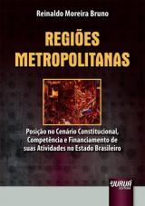 Capa do livro: Regiões Metropolitanas, Reinaldo Moreira Bruno