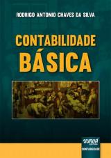 Capa do livro: Contabilidade Básica, Rodrigo Antonio Chaves da Silva
