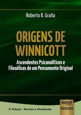 Capa do livro: Origens de Winnicott, Roberto B. Graña