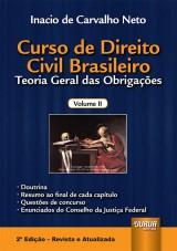 Capa do livro: Curso de Direito Civil Brasileiro, Inacio de Carvalho Neto