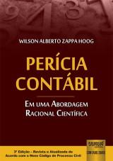Capa do livro: Perícia Contábil - Em uma Abordagem Racional Científica, Wilson Alberto Zappa Hoog