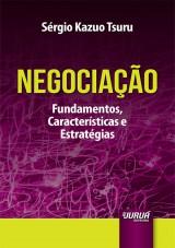 Capa do livro: Negociação, Sérgio Kazuo Tsuru