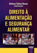Capa do livro: Direito à Alimentação e Segurança Alimentar, Coordenadora: Helena Telino Neves