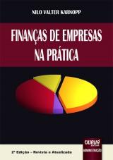 Capa do livro: Finanças de Empresas na Prática, Nilo Valter Karnopp