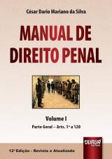 Capa do livro: Manual de Direito Penal, César Dario Mariano da Silva