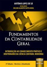 Capa do livro: Fundamentos da Contabilidade Geral, Antônio Lopes de Sá – Atualização: Wilson Alberto Zappa Hoog