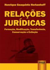 Capa do livro: Relações Jurídicas, Henrique Geaquinto Herkenhoff