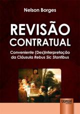 Capa do livro: Revisão Contratual, Nelson Borges