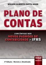 Capa do livro: Plano de Contas - Com Ênfase nos Novos Padrões de Contabilidade - IFRS, Wilson Alberto Zappa Hoog