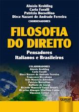 Capa do livro: Filosofia do Direito, Coordenadores: Aloísio Krohling, Carla Faralli, Patrizia Borsellino e Dirce Nazaré de Andrade Ferreira