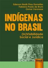 Capa do livro: Indígenas no Brasil, Ederson Nadir Pires Dornelles, Fabiano Prado de Brum e Osmar Veronese