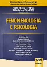 Capa do livro: Fenomenologia e Psicologia, Organizadoras: Marta Helena de Freitas e Luciana da Silva Santos