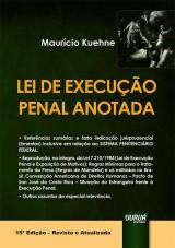 Capa do livro: Lei de Execução Penal Anotada, Maurício Kuehne