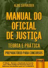 Capa do livro: Manual do Oficial de Justiça, Aldo Safraider
