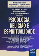 Capa do livro: Psicologia, Religião e Espiritualidade, Organizadores: Marta Helena de Freitas, Nicole Bacellar Zaneti e Sergio Henrique Nunes Pereira