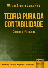 Capa do livro: Teoria Pura da Contabilidade, Wilson Alberto Zappa Hoog