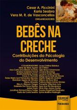 Capa do livro: Bebês na Creche, Organizadores: Cesar A. Piccinini, Karla Seabra e Vera M. R. de Vasconcellos