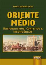 Capa do livro: Oriente Médio, Marli Barros Dias