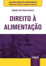 Capa do livro: Direito à Alimentação - Minibook, Waldir de Pinho Veloso