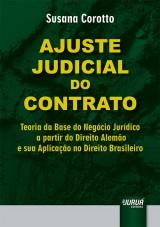 Capa do livro: Ajuste Judicial do Contrato, Susana Corotto