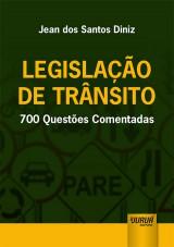 Capa do livro: Legislação de Trânsito, Jean dos Santos Diniz