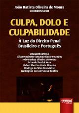 Capa do livro: Culpa, Dolo e Culpabilidade, Coordenador: João Batista Oliveira de Moura
