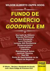 Capa do livro: Fundo de Comércio Goodwill, Wilson Alberto Zappa Hoog