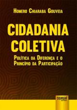 Capa do livro: Cidadania Coletiva - Política da Diferença e o Princípio da Participação, Homero Chiaraba Gouveia