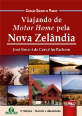 Capa do livro: Viajando de Motor Home pela Nova Zelândia, José Ernani de Carvalho Pacheco