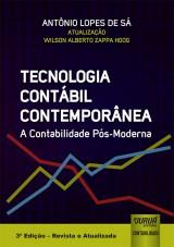 Capa do livro: Tecnologia Contábil Contemporânea, Antônio Lopes de Sá - Atualização: Wilson Alberto Zappa Hogg