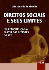 Capa do livro: Direitos Sociais e seus Limites, Luiz Eduardo de Almeida