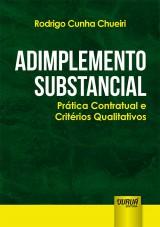 Capa do livro: Adimplemento Substancial, Rodrigo Cunha Chueiri