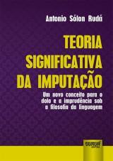 Capa do livro: Teoria Significativa da Imputação, Antonio Sólon Rudá