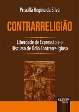 Capa do livro: Contrarreligião, Priscilla Regina da Silva